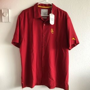 USC Trojans Tommy Bahama Collegiate Shirt *NEW*